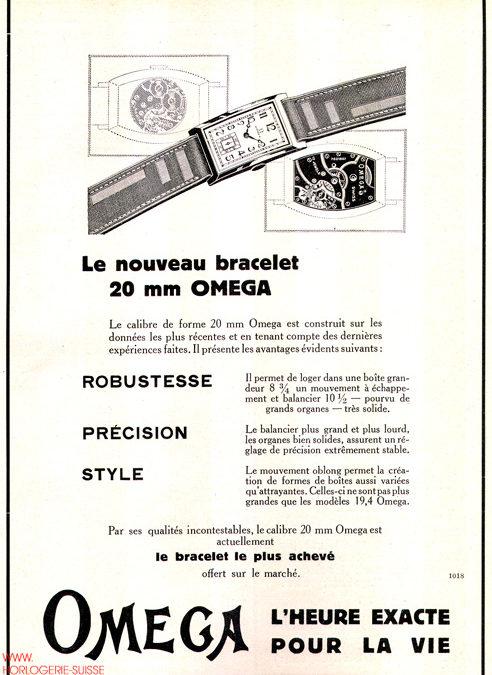 Que s'est-il passé en 1930/31 ? Publicités horlogères historiques